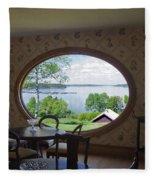 Campobello Island Roosevelts House Fleece Blanket