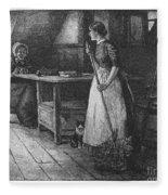 Canada: Daily Life, 1883 Fleece Blanket