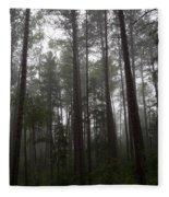 Canadian Forest Fleece Blanket