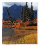 Canadian Landscape Fleece Blanket