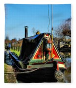 Canal Crib Fleece Blanket