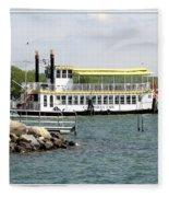 Canandaigua Lady Paddleboat Fleece Blanket