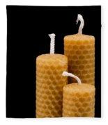 Candles Fleece Blanket