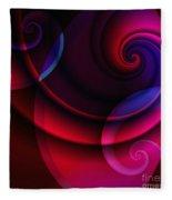 Candy Swirls Fleece Blanket