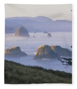 Cannon Beach Fleece Blanket