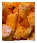 Cantaloupe Fleece Blanket