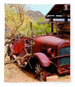 Canyon Creek Ranch Transportation Fleece Blanket