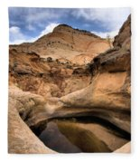 Canyon Pool Fleece Blanket