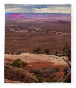 Canyonland Overlook Fleece Blanket