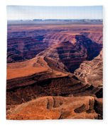 Canyonlands II Fleece Blanket