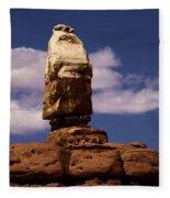 Canyonlands Santa Claus Fleece Blanket