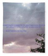 Capability Fleece Blanket