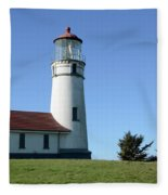 Cape Blanco Lighthouse 1 Fleece Blanket