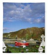 Cape Clear Island, Co Cork, Ireland Fleece Blanket