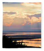 Cape Cod Beach Brewster Fleece Blanket