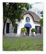 Cape Dutch Cottage Fleece Blanket