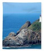 Cape Mears Lighthouse Fleece Blanket