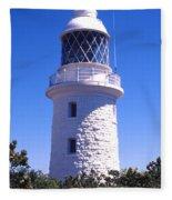 Cape Naturaliste Lighthouse Fleece Blanket