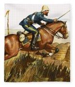 Captain Beresford In The Zulu Wars Fleece Blanket