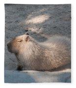 Capybara Fleece Blanket
