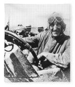 Car Race, 1920 Fleece Blanket