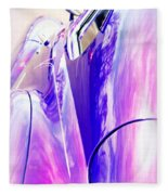 Car Reflections Fleece Blanket