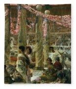 Caracalla And Geta Fleece Blanket