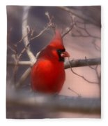 Cardinal - Unafraid Fleece Blanket