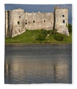 Carew Castle Reflections Fleece Blanket
