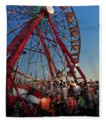 Carnival - An Amusing Ride  Fleece Blanket