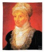 Caroline Herschel, German-british Fleece Blanket