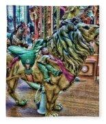 Carousel Color Fleece Blanket