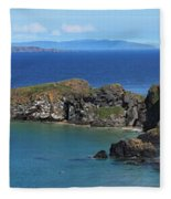 Carrick-a-rede Rope Bridge In The Fleece Blanket