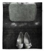 Case And Shoes Fleece Blanket