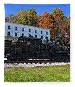 Cass Railway Wv Painted Fleece Blanket