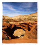 Cassidy Arch Fleece Blanket