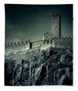 Castelgrande Bellinzona Fleece Blanket