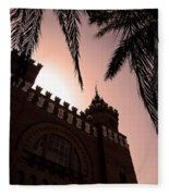Castell Dels Tres Dragons - Barcelona Fleece Blanket
