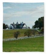 Castle Barn 3 Fleece Blanket