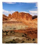 Castle In The Distance Fleece Blanket