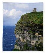 Castle On A Cliff, Obriens Tower Fleece Blanket