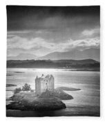 Castle Stalker Fleece Blanket