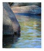 Castor River Reflections Fleece Blanket