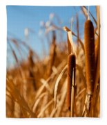 Cat Tails Fleece Blanket