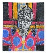 Catalan Jesus Fleece Blanket