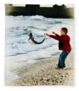 Catch And Release Fleece Blanket