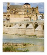 Cathedral Mosque In Cordoba Fleece Blanket