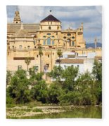 Cathedral Mosque Of Cordoba Fleece Blanket