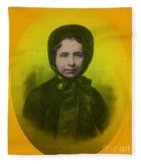Catherine Booth, Co-founder Salvation Fleece Blanket