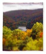 Catskill Fall Fleece Blanket